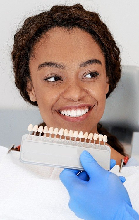 Frisco Cosmetic Dentist smiling young woman